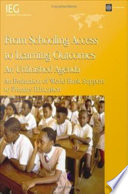 From Schooling Access to Learning Outcomes  an Unfinished Agenda