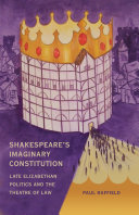 Shakespeare's Imaginary Constitution