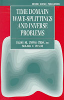 Time Domain Wave-splittings and Inverse Problems