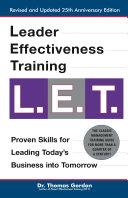 Leader Effectiveness Training: L.E.T. (Revised) Pdf/ePub eBook