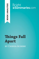 Pdf Things Fall Apart by Chinua Achebe (Book Analysis) Telecharger