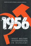 Soviet Military Intervention in Hungary  1956 Book