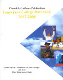 Chronicle Four Year College Databook