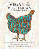 Vegan   Vegetarian Coloring Book
