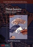 Things Japanese [Pdf/ePub] eBook