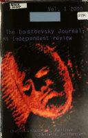 The Dostoevsky Journal