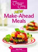 New Make Ahead Meals Book PDF
