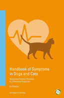 Handbook of Symptoms in Dogs and Cats Book