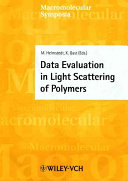 Data Evaluation in Light Scattering of Polymers
