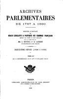 Archives parlementaires