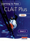 Learning to Pass CLAIT Plus 2006  Level 2  Unit 2