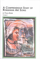 A Comprehensive Study of Romanian Art Song