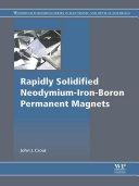 Rapidly Solidified Neodymium-Iron-Boron Permanent Magnets [Pdf/ePub] eBook