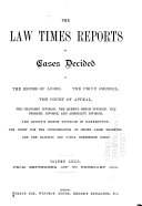 The Law Times Reports
