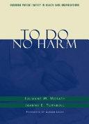 To Do No Harm Book PDF