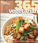 Better Homes Gardens 365 Vegetarian Meals