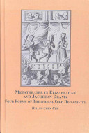 Metatheater in Elizabethan and Jacobean Drama