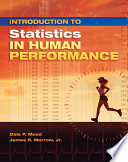 Introduction to Statistics in Human Performance
