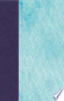 NKJV Daily Devotional Bible for Women  Purple Blue LeatherTouch