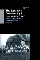 The Japanese Community in Pre War Britain