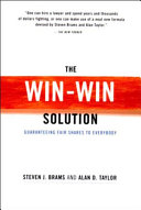 The Win-Win Solution