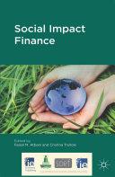Pdf Social Impact Finance
