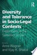 Diversity And Tolerance In Socio Legal Contexts