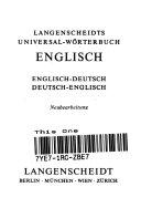 Dictionary Langenscheidts German English English German