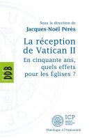 Pdf La réception de Vatican II Telecharger