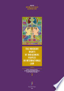 The Inherent Rights of Indigenous Peoples in International Law