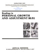 Readings in Personal Growth and Adjustment 80/81