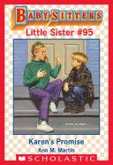 Karen''s Promise (Baby-Sitters Little Sister #95)
