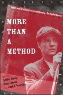 More Than a Method
