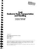 Coal  Seaborne Trade  Transportation  and Handling