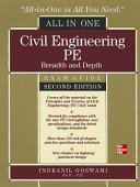 Civil Engineering All In One PE Exam Guide  Breadth and Depth  Second Edition Book