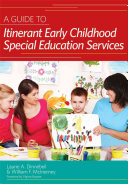 A Guide To Itinerant Early Childhood Special Education Services