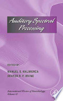 Auditory Spectral Processing