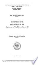 War Minerals Report