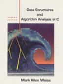 Cover of Data Structures and Algorithm Analysis in C
