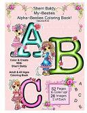 Sherri Baldy My Besties Alphabet Besties Coloring Book