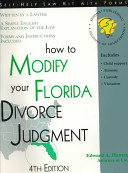 How to Modify Your Florida Divorce Judgment