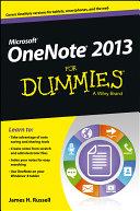 OneNote 2013 For Dummies Pdf/ePub eBook