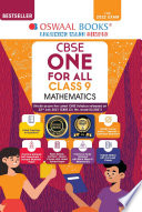 Oswaal CBSE One for All  Mathematics  Standard   Class 9  For 2022 Exam