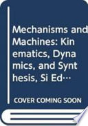 Mechanisms and Machines: