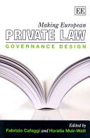 Making European Private Law