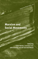 Pdf Marxism and Social Movements