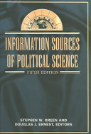 Information Sources of Political Science