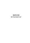 Philippine Studies: Have We Gone Beyond St. Louis?