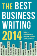 The Best Business Writing 2014