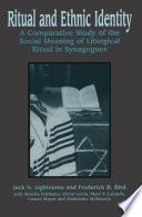 Ritual and Ethnic Identity